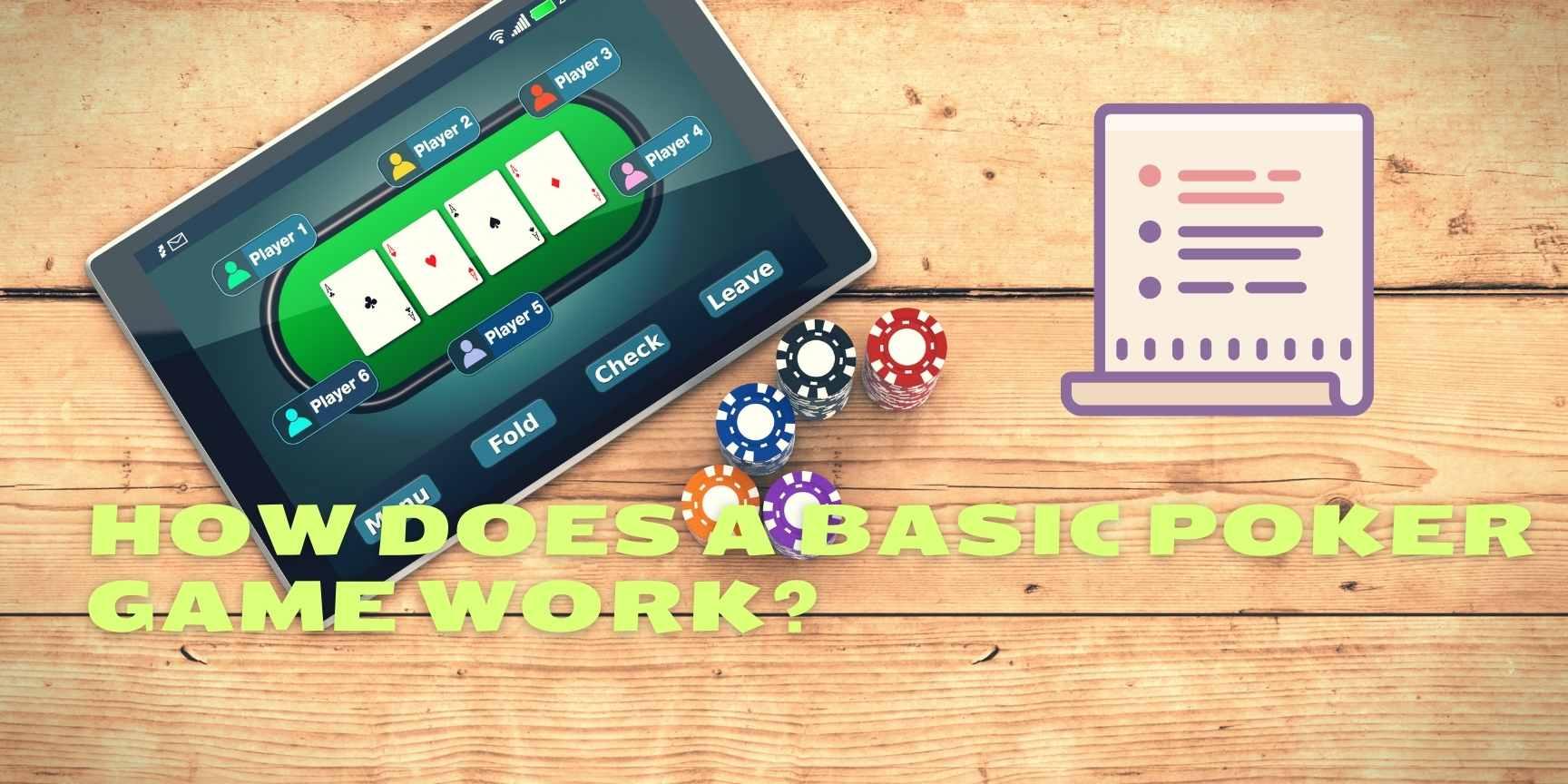basic poker game