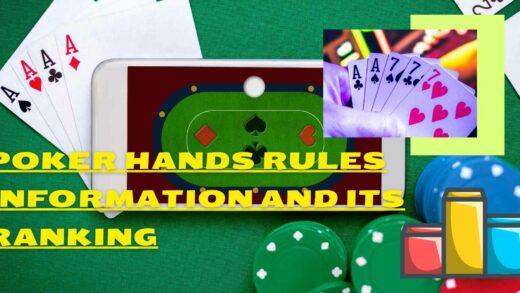 poker hands information